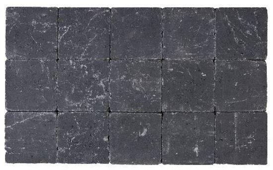 Picture of COBBLESTONES DRUMMED 15X15X5 BLACK