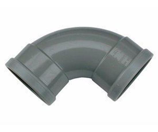 Picture of PVC bocht D.110 - 88° - M/M