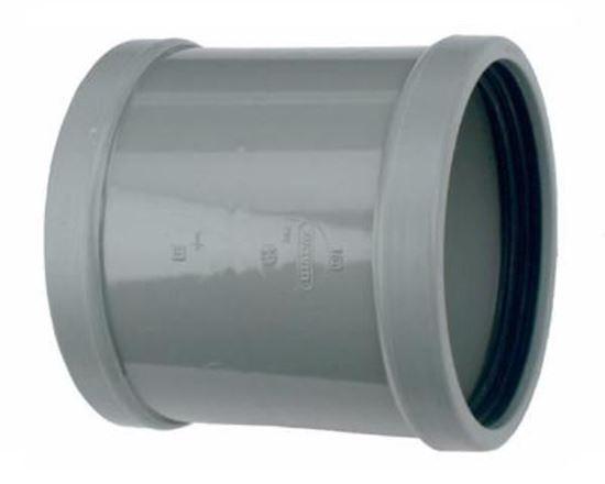 Picture of PVC schuifmof D.125