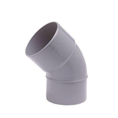 Picture of PVC bocht D.125 - 45° - M/S