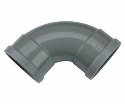 Picture of PVC bocht D.125 - 88° - M/M
