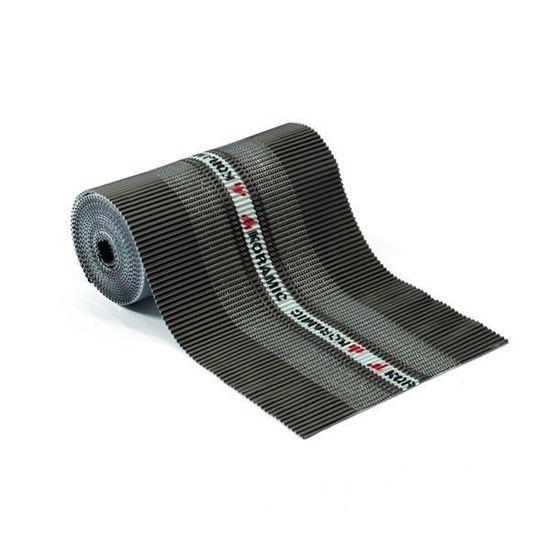 Picture of Ventilerende ondervorst zwart 30cm x 5m