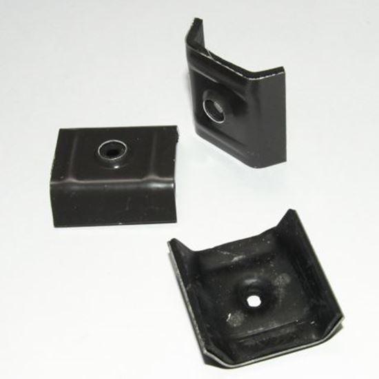 Picture of Ruiter klem antraciet 3 x 333 x 45mm - 100 stuks