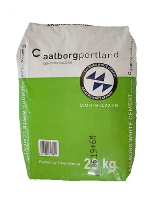 Picture of CEMENT WIT AALBORG 20 KG